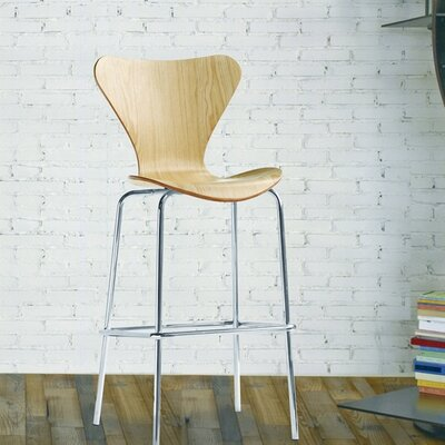 Jays 31 Bar Stool Upholstery: Natural