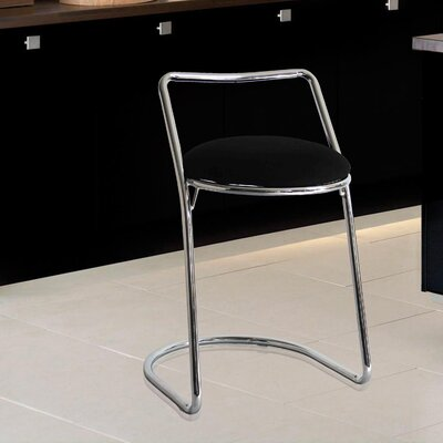 22 Bar Stool Upholstery: Black