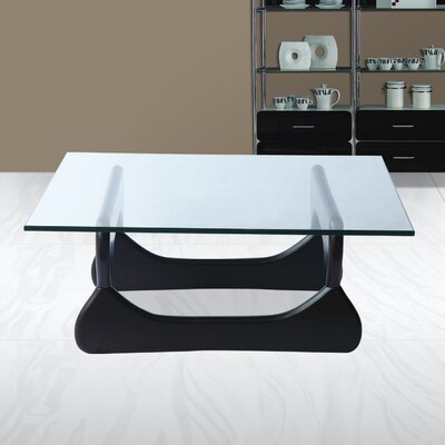 Guchi Coffee Table Base Finish: Black
