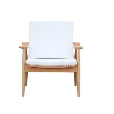 Vogal Armchair Color: White