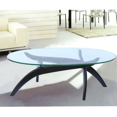 Spider Coffee Table Color: Black