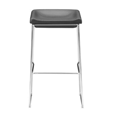 30.3 Bar Stool Upholstery: Black