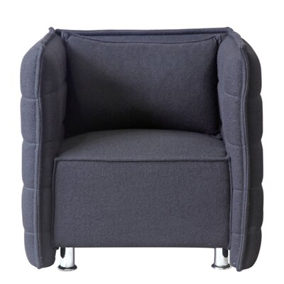 Sofata Lounge Chair Upholstery: Black