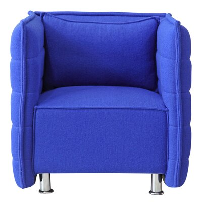 Sofata Lounge Chair Color: Blue