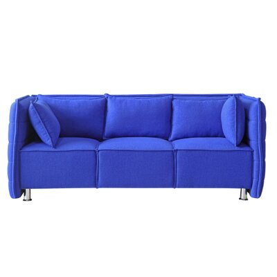 Chesterfield Sofa Upholstery: Blue