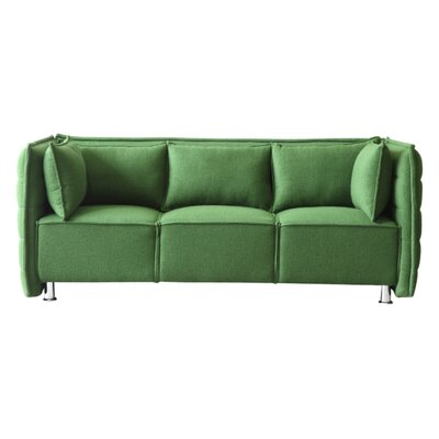Chesterfield Sofata Chesterfield Sofa Upholstery: Green