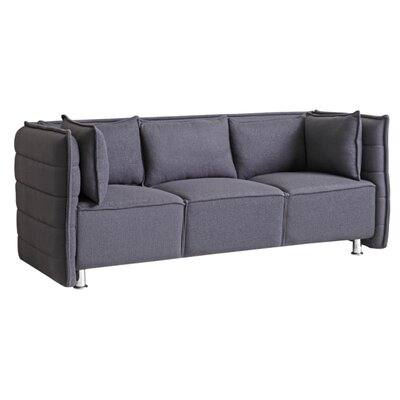 Chesterfield Sofata Chesterfield Sofa Upholstery: Gray