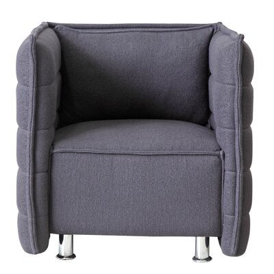 Sofata Lounge Chair Color: Gray