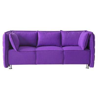 Chesterfield Sofata Chesterfield Sofa Upholstery: Purple