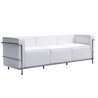 Grand Lc3 Sofa Upholstery: White