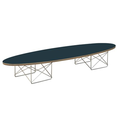 Wire Coffee Table Top Color: Black