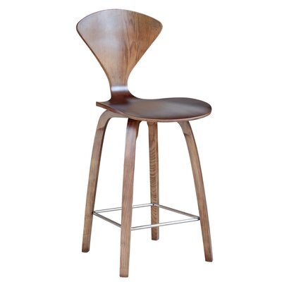 Bar Stool Finish: Walnut