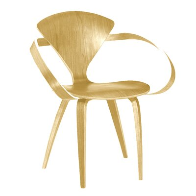 Wooden Arm Chair Color: Natural