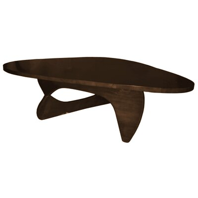 Rare Coffee Table Color: Dark walnut