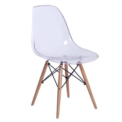 GlossWood Dining Side Chair