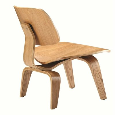 Plywood Lounge Chair Color: Natural