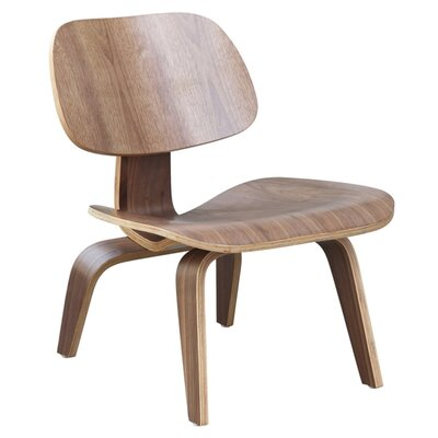 Plywood Lounge Chair Color: Walnut