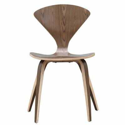 Wooden Side Chair Finish: Walnut