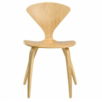 Wooden Side Chair Color: Natural