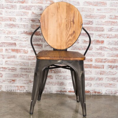 Solid Wood Dining Chair Finish: Walnut