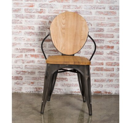Solid Wood Dining Chair Color: Natural