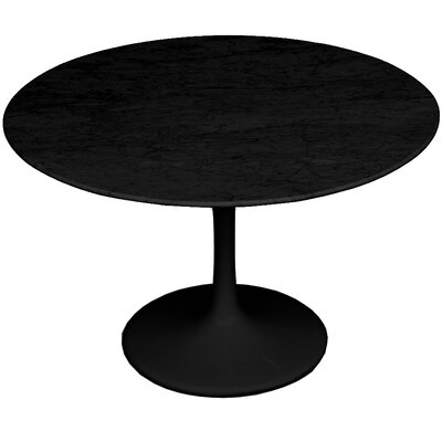 Flower Marble Table 39 Color: Black
