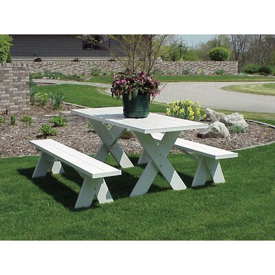 Wyona Picnic Table with Benches