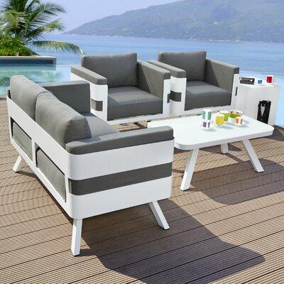 Graybeige Aluminium Loungemöbel Garten Online Kaufen Möbel