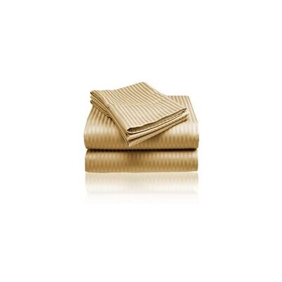 Embossed Sheet Set Size: Queen, Color: Gold