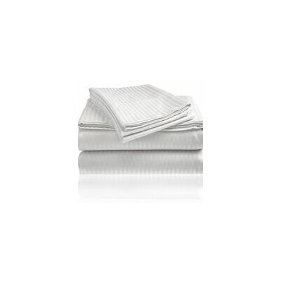Embossed Sheet Set Size: Queen, Color: White