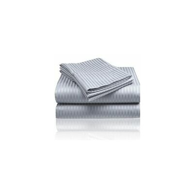 Embossed Sheet Set Size: King, Color: Gray