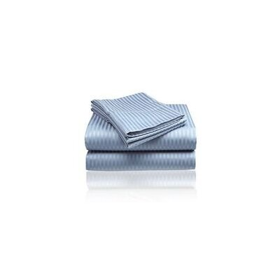 Embossed Sheet Set Size: King, Color: Light Blue