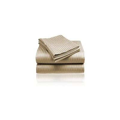 Embossed Sheet Set Size: King, Color: Taupe