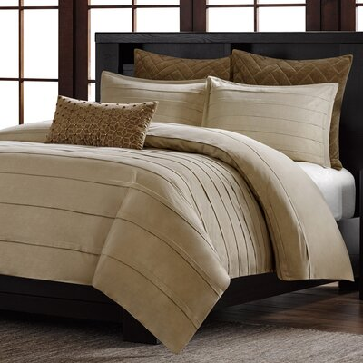 Wright 3 Piece Duvet Set Size: King