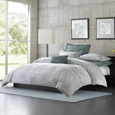Marble 3 Piece Duvet Cover Set Size: Queen