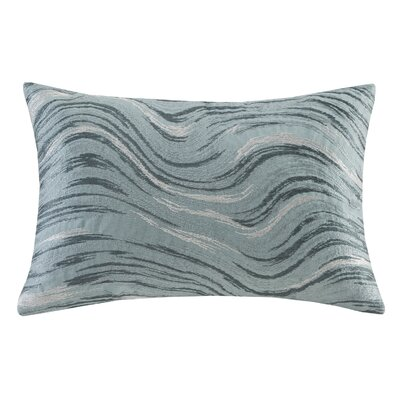 Marble Oblong Cotton Lumbar Pillow