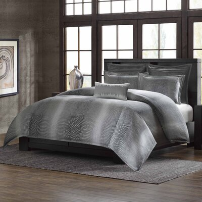 Shagreen 3 Piece Comforter Set Size: Queen