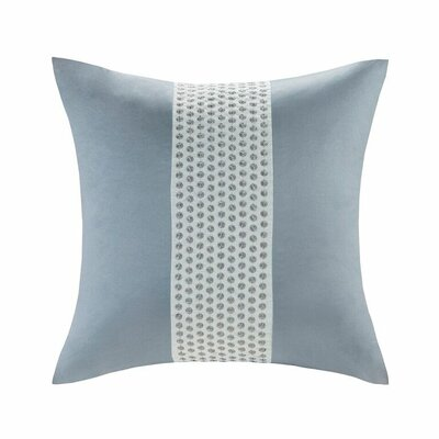 Kenmare Throw Pillow Color: Blue