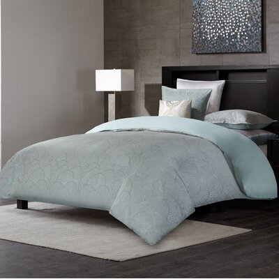 Laval 3 Piece Duvet Cover Set Size: Queen