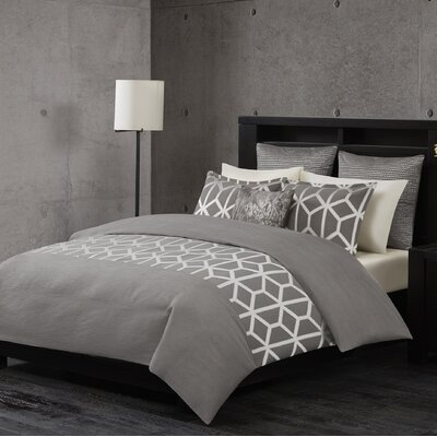 Brockton 3 Piece Comforter Set Size: King