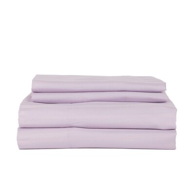 Castle Hill 310 Thread Count Cotton Sheet Set Size: Queen, Color: Lavender