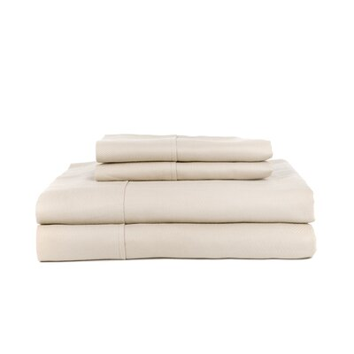 Knightsbridge 600 Thread Count Egyptian Quality Cotton Jacquard Herringbone Sheet Set Size: Queen, Color: Ash