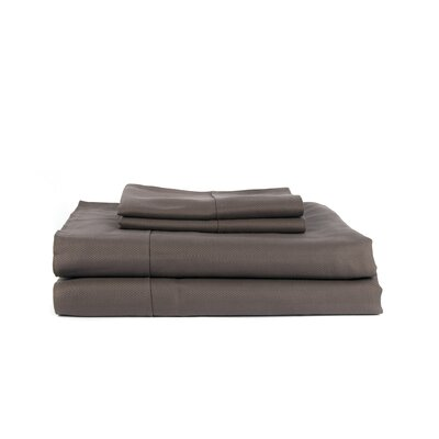 Knightsbridge 600 Thread Count Egyptian Quality Cotton Sheet Set Size: Full, Color: Gray