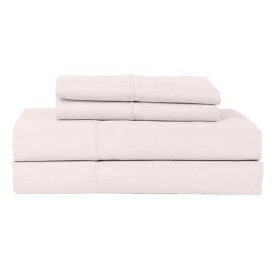Perthshire Platinum 4 Piece 800 Thread Count Egyptian Quality Cotton Sateen Sheet Set Color: Ash, Size: King