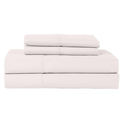 Hotel by Perthshire 4 Piece 620 Thread Count Egyptian Quality Cotton Sateen Sheet Set Size: Queen, Color: Ash