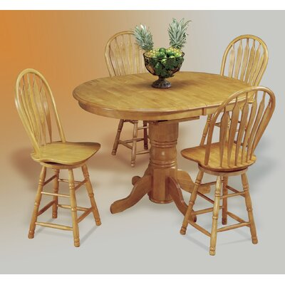 Sunset Trading Sunset Selections Pedestal Dining Table - Finish: Rich Honey Light Oak at Sears.com
