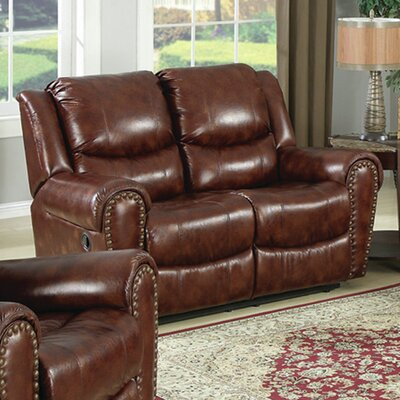 SU-S1-180-95151-L TG2152 Sunset Trading Oxford Reclining Loveseat