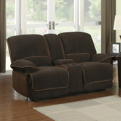 SU-T227-1-L TG2155 Sunset Trading Jackson Reclining Loveseat with Console