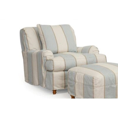 Seacoast Armchair T-Cushion Slipcover