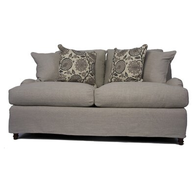 Seacoast Slipcovered Loveseat